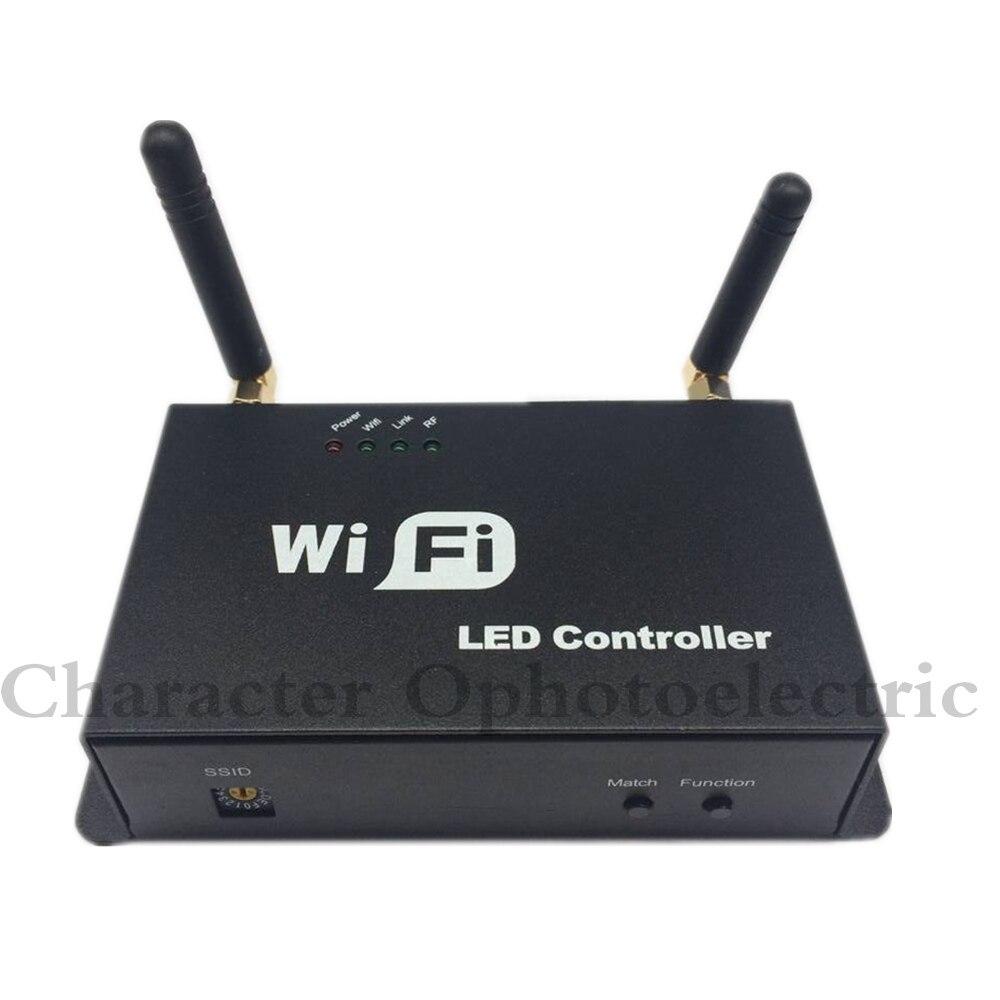 Free shipping DMX512 Decoder Led Controller DC12 24V 4A 4 Channel demoder led remote conroller decoder - 4
