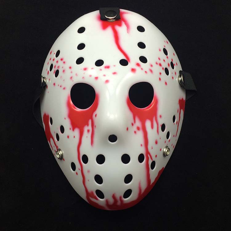 2017 New Funny Halloween Masquerade Thickening Jason Mask ...