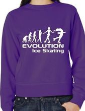 Evolution Of Ice Skating Skater Sweatshirt Jumper More Size And Colors-E119