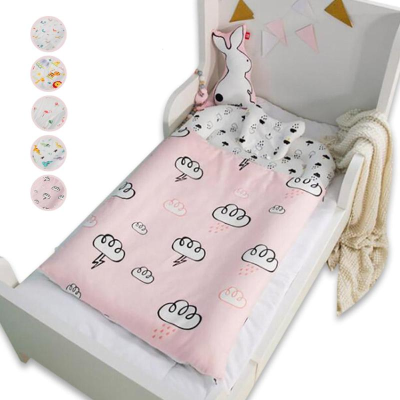 6Pcs Baby crib bedding set Soft cotton quilt cover pillow duvet bottom cover mattress bumper core set Cartoon sleeping bag R4 duvet cover brushed twill from dianoche designs home decor and bedding ideas by carrie schmitt good morning sunshine