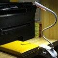 Modo 3 LED Táctil Sensible Lámpara de Escritorio lámparas de Mesa de Luz de Lectura Plegable Recargable de iluminación blanca 5 V de carga USB con clip