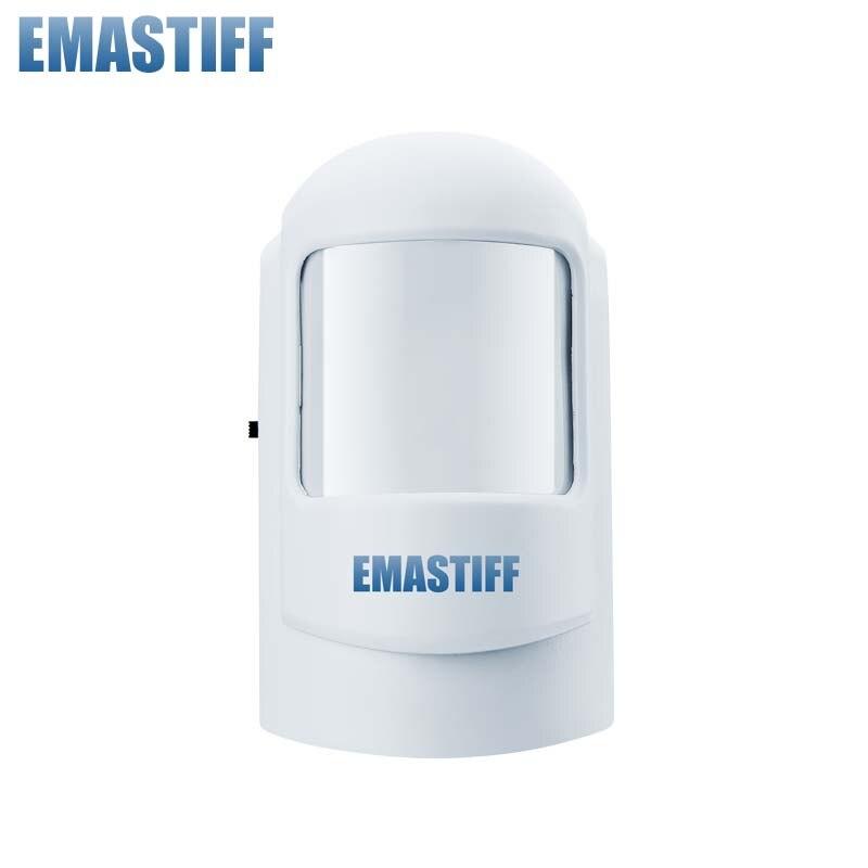 Livraison Gratuite NOUVEAU 433 MHZ Sans Fil PIR détecteur de mouvement pour système d'alarme PIR Détecteur pour la maison d'alarme de sécurité système