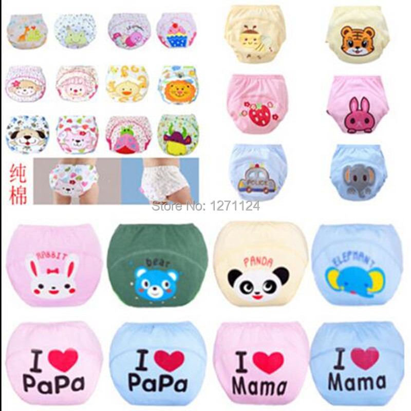 Reusable Diapers Nappies Training-Pants 27colors Baby Cotton New HOT Cute 1pcs WE521