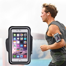 Armband stylish exercise strip cell gym pouch adjustable running holder sports