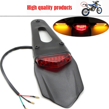 FOR KTM 125 144 150 200 250 300 450 EXC Motorcycle tail light bike Rear Fender LED Stop WR250F WR450F CRF