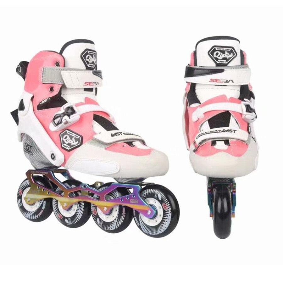 Stil; In Mutig Eur Größe 27-42 100% Original 2018 Seba Trix Qian Erwachsene/kinder Inline Skates Kohlenstoff Faser Schuhe Slalom Slide Freies Skating Patines Modischer