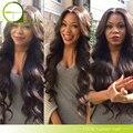 Королева Волос Бразильский Объемной Волны 4 Связки 8А Бразильские Волосы Девственницы Тела Волны Бразильский Плетение Волос Пучки Человеческих Волос Пучки