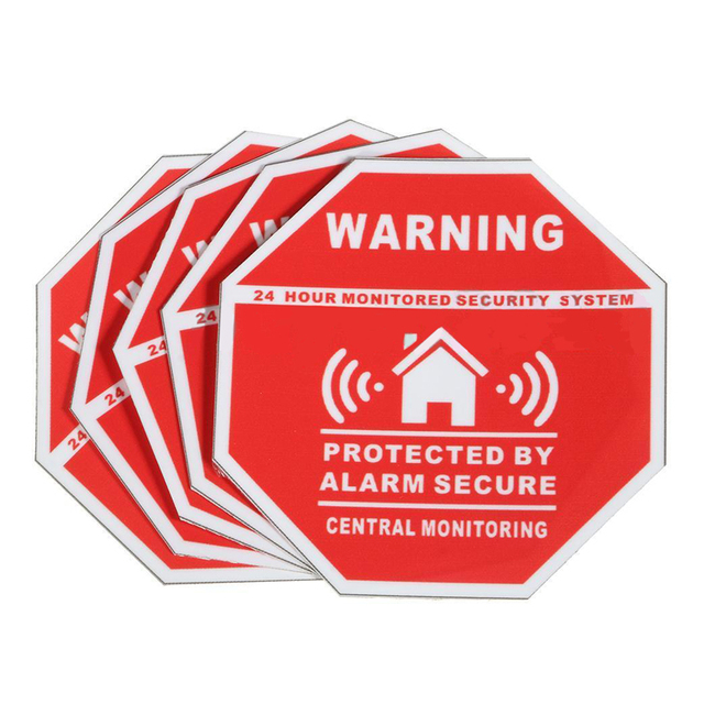 Image result for home security decals