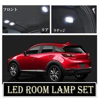 Tcart 6 x Lỗi Miễn Phí White Nội Thất LED Ánh Sáng Trọn Gói Kit Cho Mazda cx-cx3 phụ kiện đọc sách đèn Trong Nhà