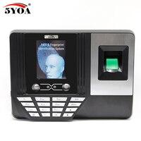 5YOA AF3 Biometric Face Facial Fingerprint Recognition Time Attendance System Machine Device