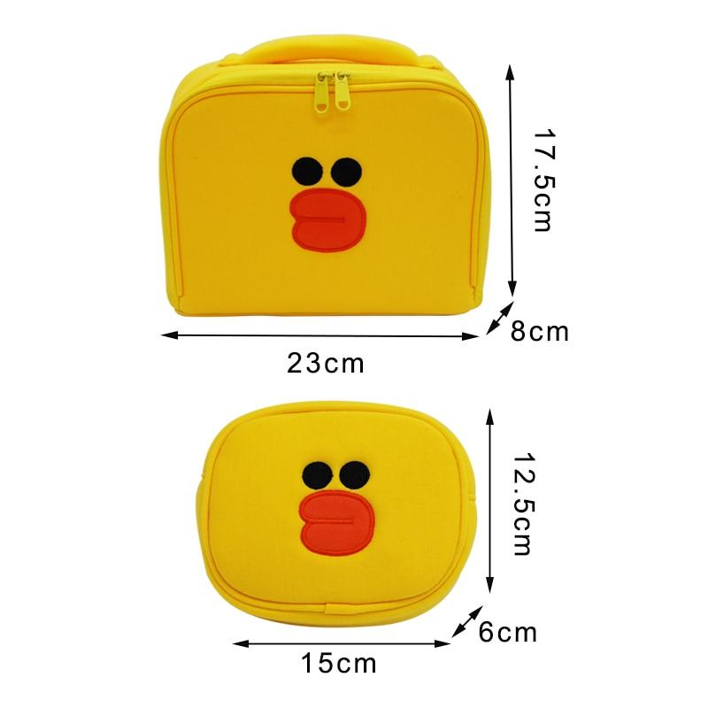 Image 2 - 2 pcs/set Women Travel Cosmetic Bag Girls Cute Toiletry Makeup Pouch Multifunction Wash Accessories Supplies Wholesale Case Itemwomen travel cosmetic bagcosmetic bagwholesale cosmetic bag -