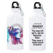 лучшая цена 12 Constellation Zodiac Sign Libra Scorpio Sagittarius Capricorn Aquarius Pisces Sport Water Bottle Gift Zodiac Present Creative