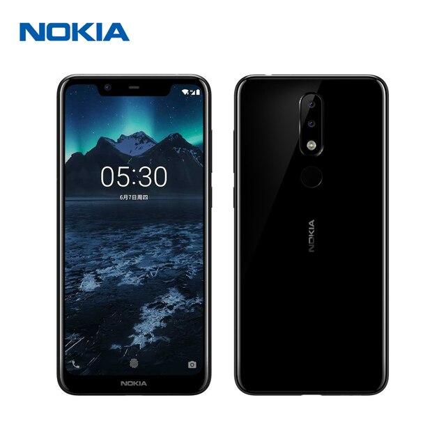 Nokia X5 3G RAM 32G ROM Mobile Phone 5.86'' 3060mAh 3 Camera 13MP&5MP&8MP Dual Sim Android Fingerprint