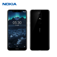 Nokia X5 3G RAM 32G ROM Mobile Phone 5.86'' 3060mAh 3 Camera 13MP&5MP&8MP Dual Sim Android Fingerprint