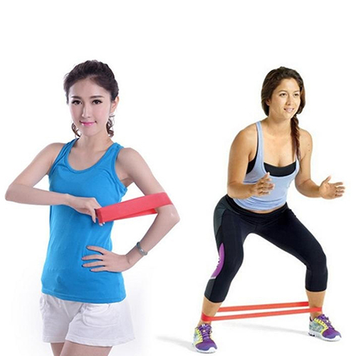 Strength Training Gym Exercise Fitness Cross Fit Latex Resistance Loop Band