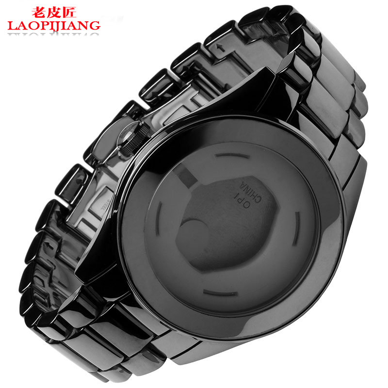 Laopijiang Watch accessories really ceramic watchcase watchband for AR1410 can buy a single dial watch strap watch accessories really gray case adaptation of ar1462 ceramics can be a single buy dial and a watchband