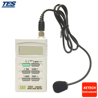 RS 232 Datalogging medidor de Nível de Som Tester/TES1355 Noise Dose Medidor|dose meter|tester meter|  -