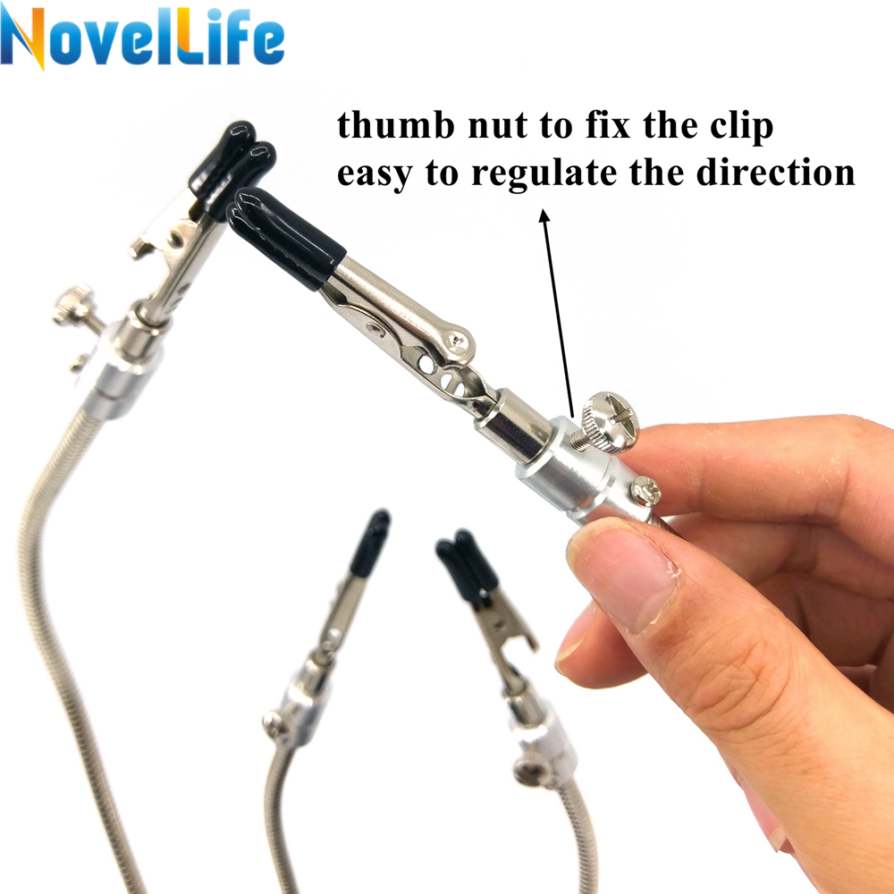 Helping Hands Soldering Aid Tool Third Pana Hand Pcb Circuit Board Metal Holder Repairing Repair For Mobile Phone Stand Movable 4 Flexible Arm Alligator Clip In Sets From Tools On