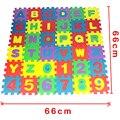 36 pçs/lote Ambientalmente desenvolvimento suave infantil rastejando puzzle esteira da espuma de eva, piso pad para jogos do bebê