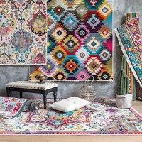 Турция импортный ковер гостиная персидский стиль спальня ковер домашний Диванный кофейный столик пол коврик толстые прикроватные коврики