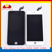 10Pcs/lot For iphone 6S Plus LCD Screen Pantalla Display Touch Digitizer Complete Original Quality