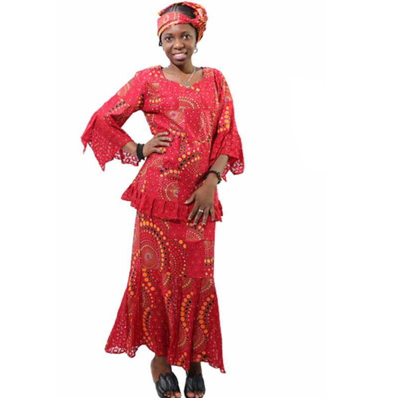 cc07c5dc2 H&D african styles for women with lace wax print dress bazin riche fabric traditional  embroidery craft