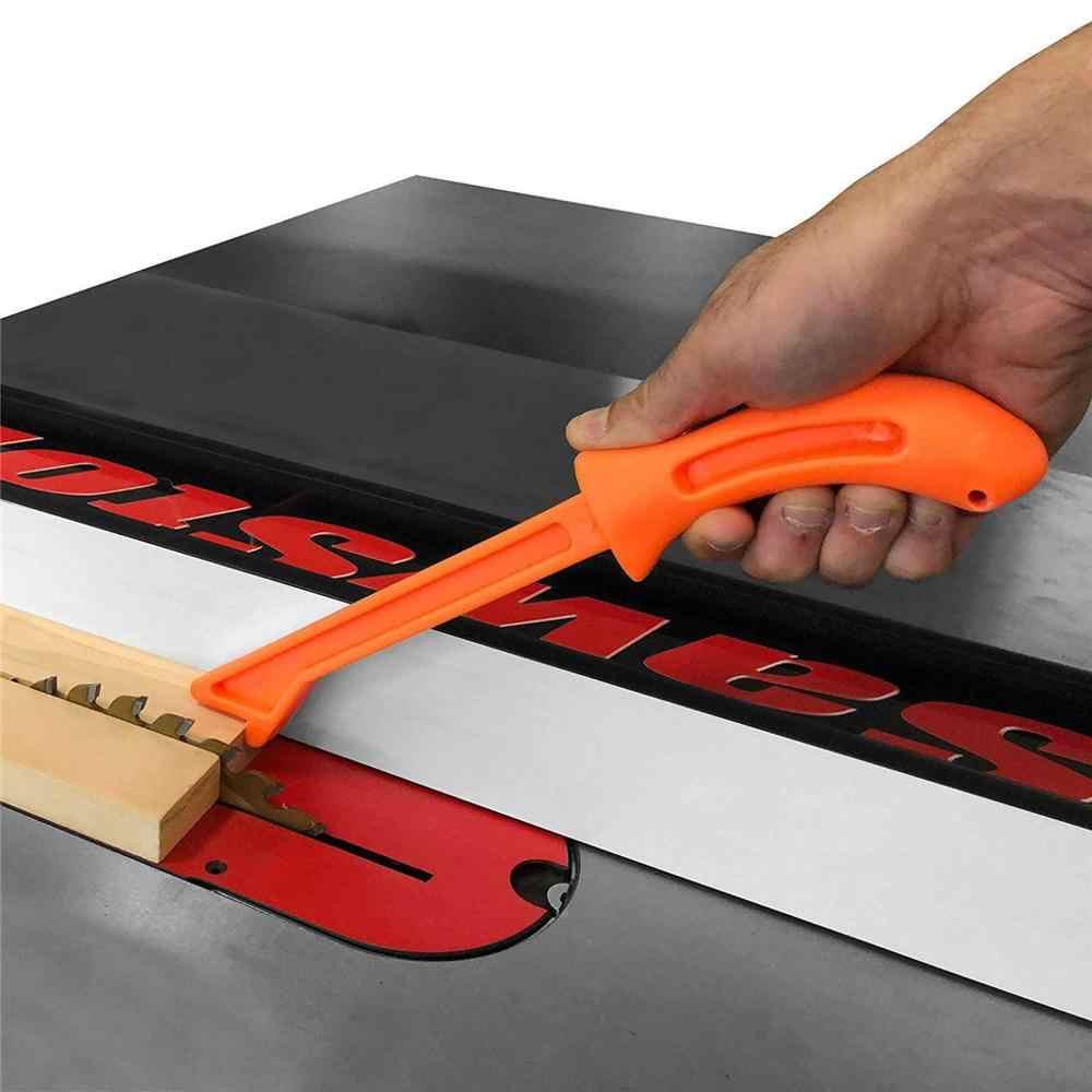 Barras de empuje de sierra de madera para mesa de carpintería de trabajo 4 Uds protección para manos de seguridad juego de empuje de madera de serrín para mesa de carpintería #15
