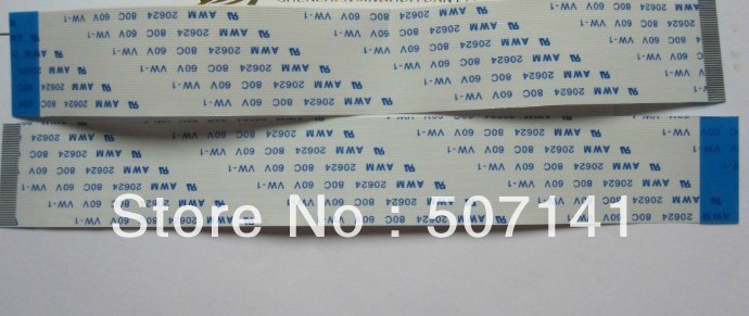 FREE SHIPPIN NEW!! FFC 0.5pitch 24pin 300mm Long Type B Flexible Flat Cable For TTL LCD DVD Computer Printer AWM 80C 60V VW-1