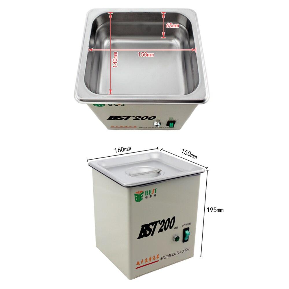 Профессиональный Многофункциональный Ультразвуковой очиститель для ювелирных часов высокоточная Электроника - 2