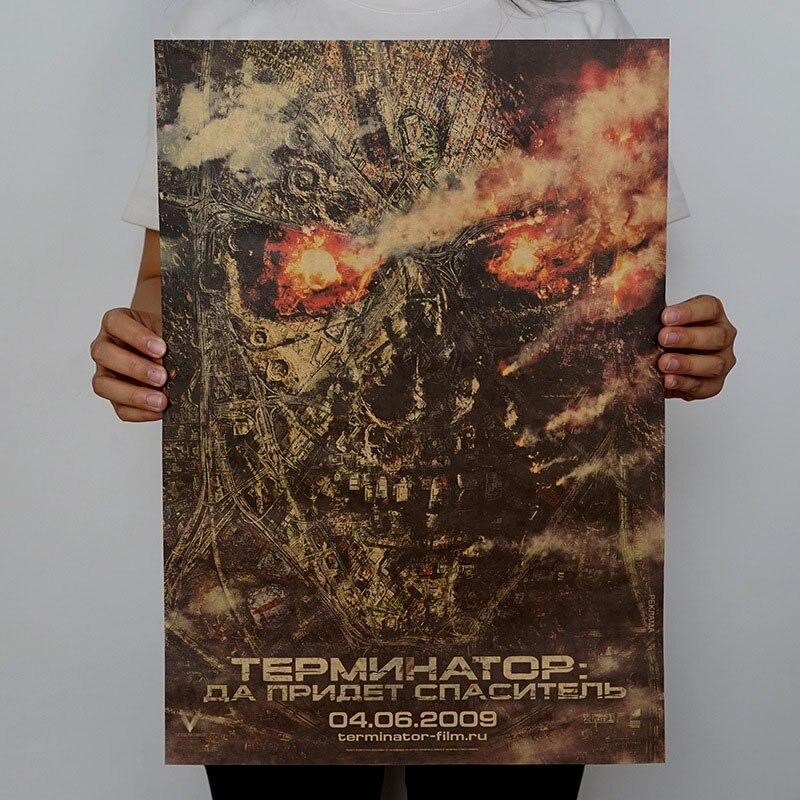 1 шт. винтажные плакаты ретро фильм плакат крафт-бумага плакаты рисунок Классический плакат бар украшение дома живопись стикер стены