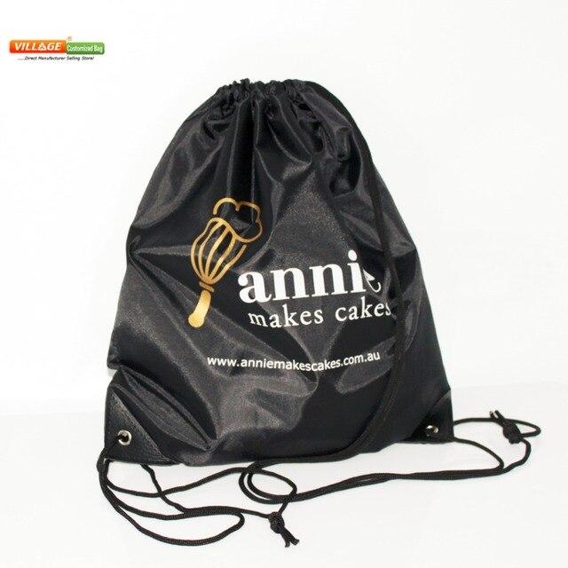 Cordón Personalizadas 100 De Unidslote Bolsas Para Logotipo Impresión Cuerda Mochila Con HtIqwqWx7d