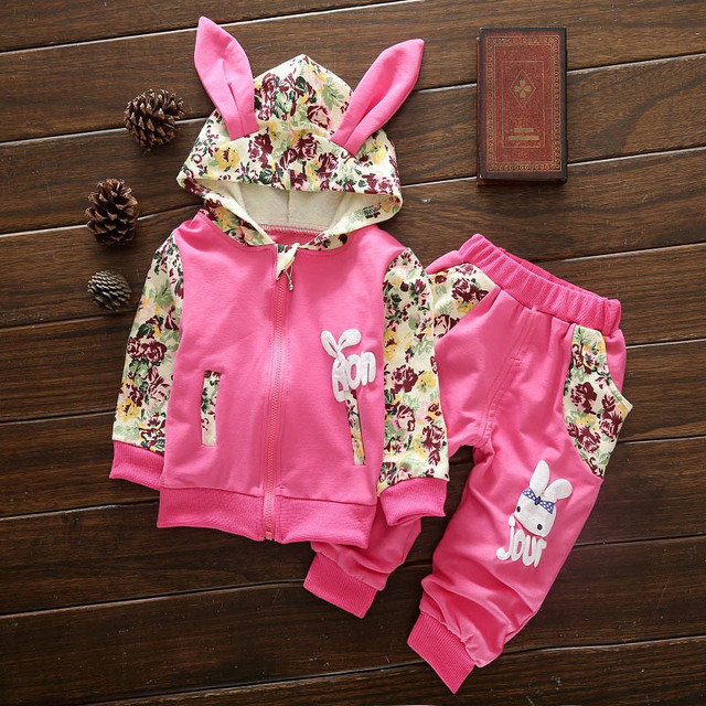 Children Clothing Set 2018 Autumn Winter Girls Clothes T-shirt+Pants Outfits Kids Clothes Sport Suit For Girls Clothing Sets