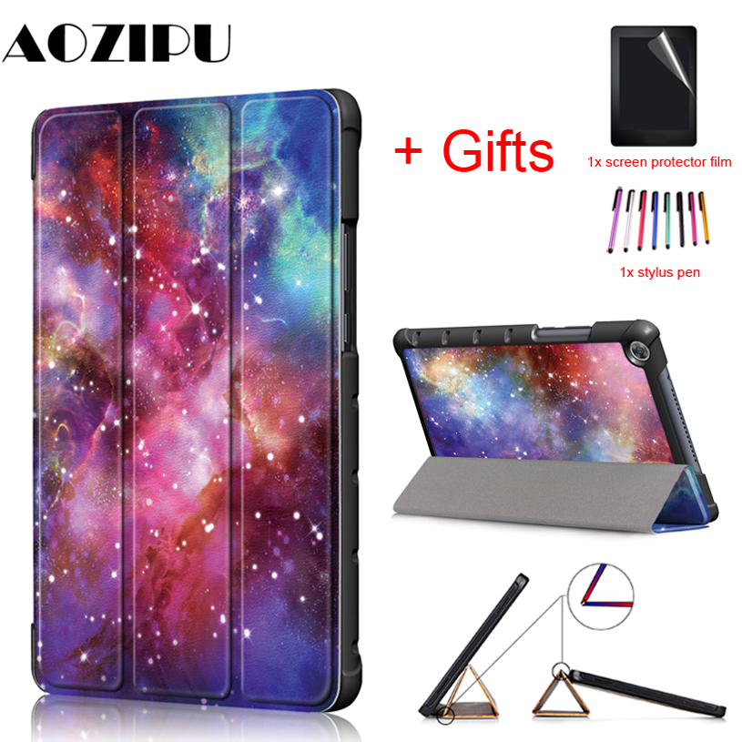 Magnetic Case for HUAWEI Mediapad M5 lite 8.0 JDN2-W09 JDN2-AL00 PU Leather Stand Cover for Huawei Mediapad m5 lite 8 case