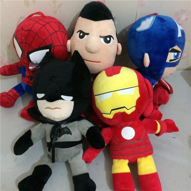 Плюшевые игрушки Марвел и ds comics