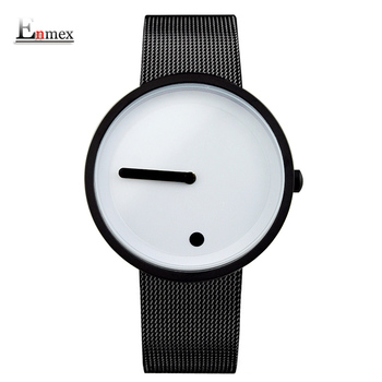 Creative design Dot and Line simple stylish fashion watch for men and women 4