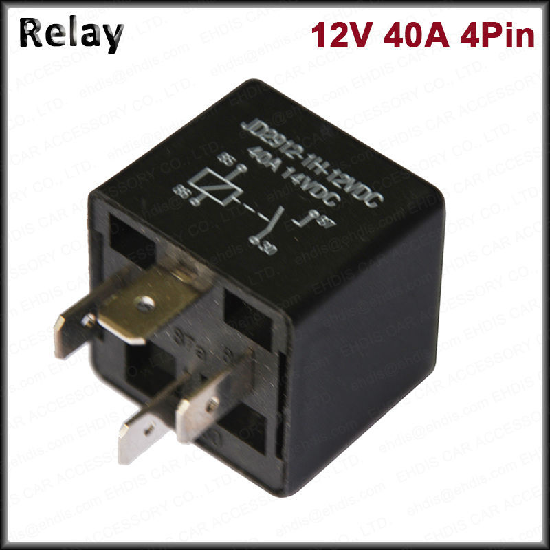 KH Brand Car Relays 4 Pin 12v 24v 40amp Spst Automotive Fuse Relay - Automotive Relay Normally Open