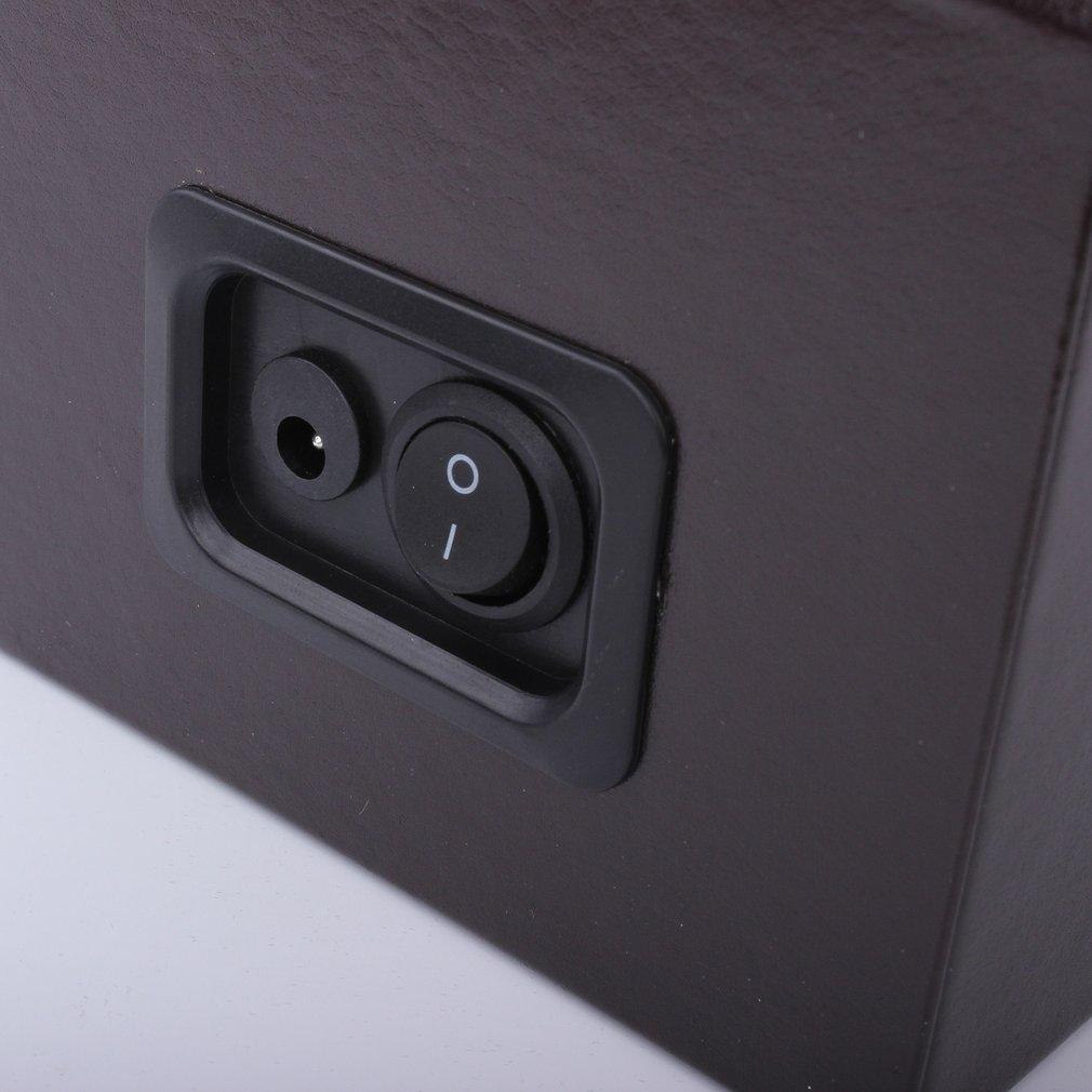 motor shaker relógios caso titular exibição relógio enrolamento caixa de jóias