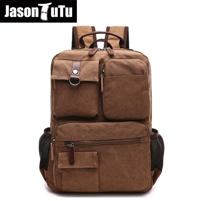 Multi-pocket canvas backpack Khaki/Navy blue/Black/ Army Green Original Captain backpack Brand design laptop backpack FB1199 цены онлайн