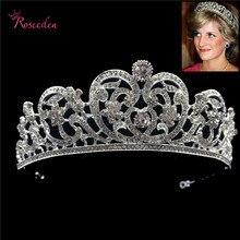 Gorgeous European Crystal wedding Bridal Tiara Rhinestone Pageant  Miss Universe Crown Wedding Hair Accessories RE3124