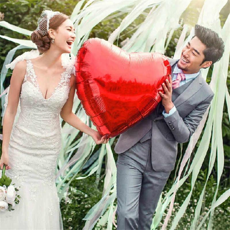 Воздушные шары с дизайном «сердце», свадебное кольцо, предлагаем защиты ко Дню Святого Валентина украшения с надписью «LOVE» и Фольга воздушные шары для праздника вечерние поставки 10/36 дюймов
