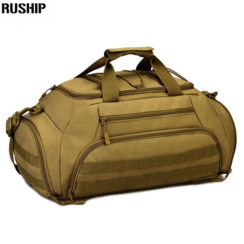 Tactique chasse sac à dos grande capacité Nylon 1000D sacs à bandoulière bagages fourre-tout randonnée Camp sac à dos ordinateur portable voyage Molle sac 35L