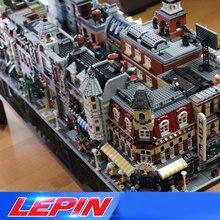DHL LePin Штадт Street view архитектура создатели 15002 15003 15004 15005 15007 15008 15035 legoed