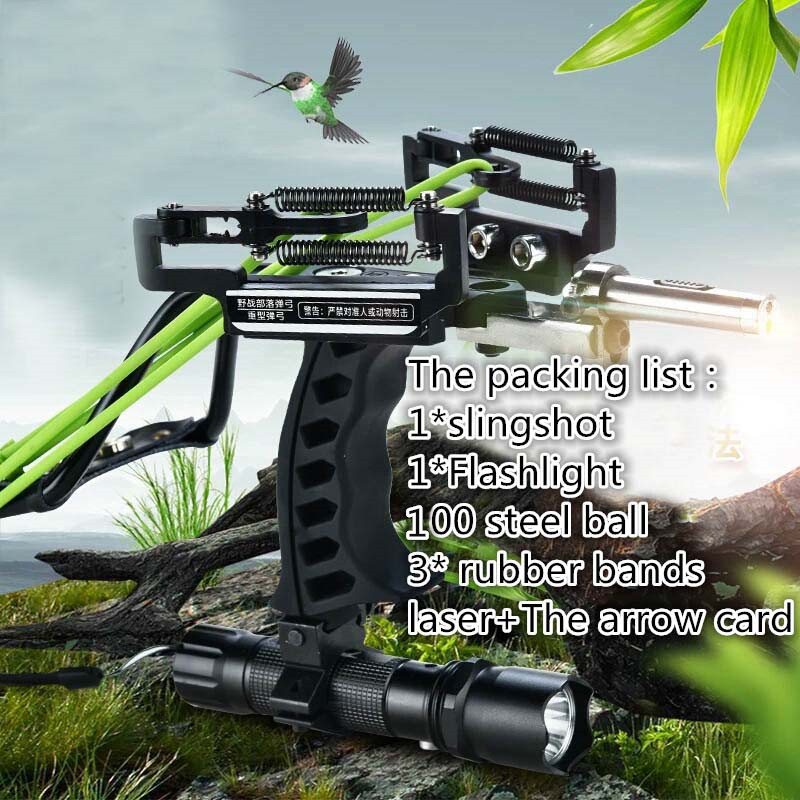 Folding Wrist Sling Shot Slingshot catapult Hunting Velocity Powerful Sling Shot Stainless steel Outdoor Athletic Bow free shipping powerful camouflage bow catapult outdoor hunting slingshot folding wrist high velocity brace hunting catapult