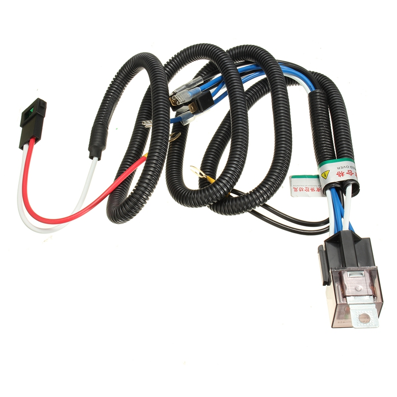 1Pcs Universal 12V Truck Car Horn Relay Wiring Harness Kit For