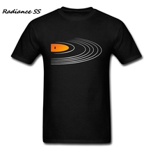 Luxury Brand T-Shirt Men Short Sleeve Retro Vinyl Record tshirt Printing Music Tee Shirts Adult Camisetas Hombre