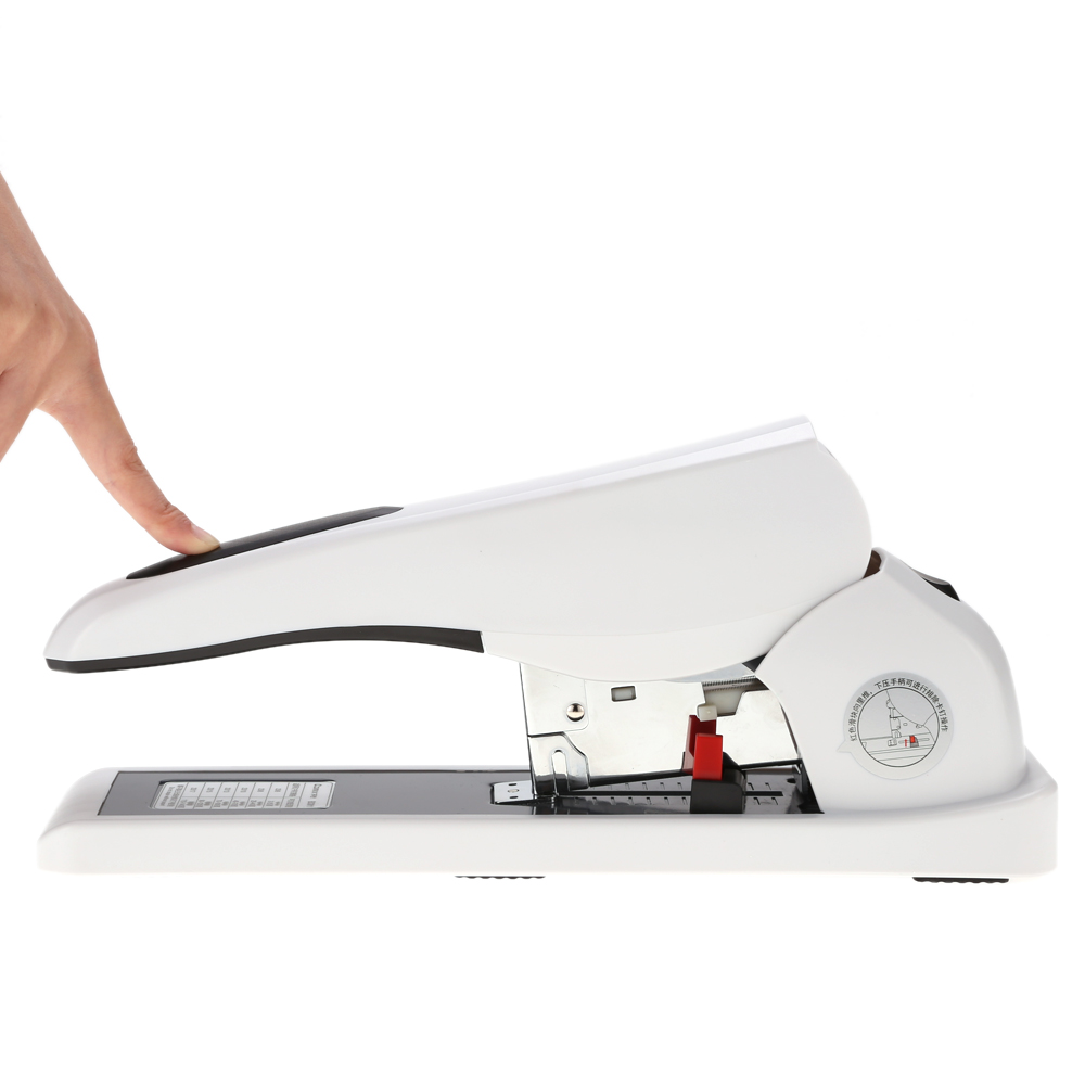 Binding Machine Heavy Duty Stapler Reduced Effort Book Sewer Stapling Machine 140 Sheets Capacity for office work school home newest heavy type metal stapler book binding stapling 100 sheet capacity for school stationery office home accessories