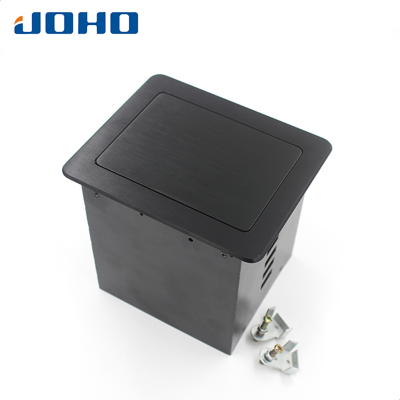 JOHO 10A Desk Socket Table Pop-up Outlets Universal Socket, 2 Datas, VGA, Audio-L & Audio-R Inserts Desktop Power Socket материнская плата asus h81m r c si h81 socket 1150 2xddr3 2xsata3 1xpci e16x 2xusb3 0 d sub dvi vga glan matx