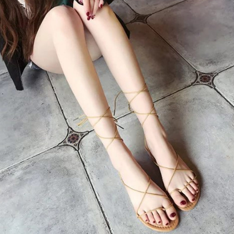 2019 New Sexy 1 Pair Women Strappy Sandals Open Toe Soft Breathable Anti-slip Shoes for Summer LBY20192019 New Sexy 1 Pair Women Strappy Sandals Open Toe Soft Breathable Anti-slip Shoes for Summer LBY2019