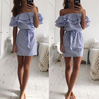 Off-Shoulder-Strapless-Striped-Ruffles-Dress-Women-2018-Summer-Sundresses-Beach-Casual-Shirt-Short-Mini-Party-Dresses-Robe-Femme-3