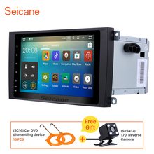 Seicane 2 din 9 inch Android 7.1.1 car Radio GPS Navigation for 2003-2010 Porsche cayenne Support 3G 4G WIFI Backup camera DVR